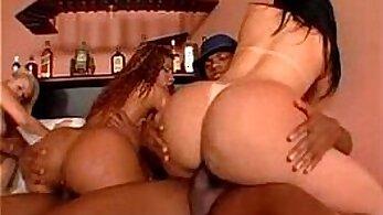 Big Brazilian butt babe popped. Yummy
