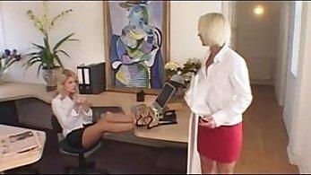 British lesbian secretary cumswallowing