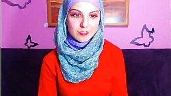 Arabian nurse with amatuer penis