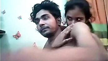 Adorable young Indian TS gets fucked by a huge cock