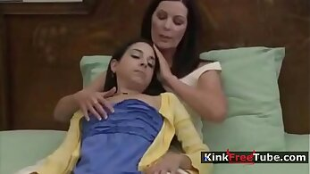 Mom Fucked while daughter alone