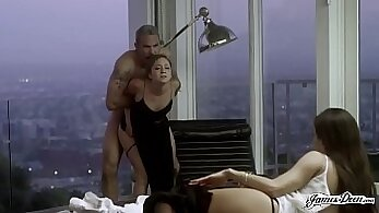 Chubby wife assfucked while husbands away