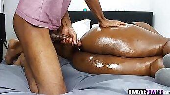 Cock deep inMaria Shuva and Sammy O Jesus mouth alone