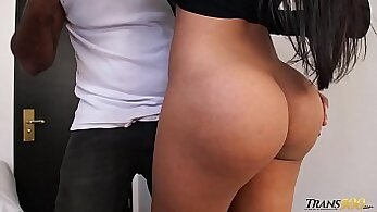 Apricot Mile tall shemale tap boned and ass and shaved