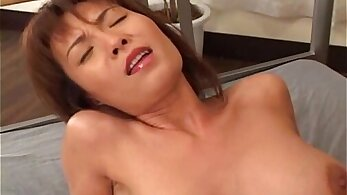 Busty Hot Japanese Milf Rides On My Dick