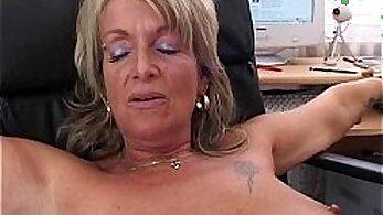 Blonde Mature Fucking Secretary