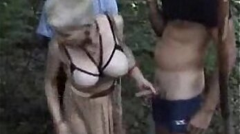 Amatuer Brat Banged Outdoors In Public Place