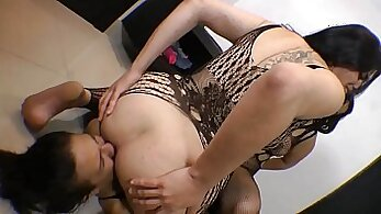 Awesome feet domination and doggie humiliation