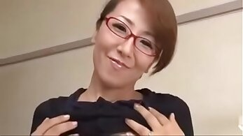 Busty Japanese Milf Gets On A Young Guy - kikka