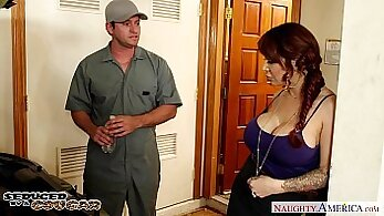 Blowjob by hot cougar on demand