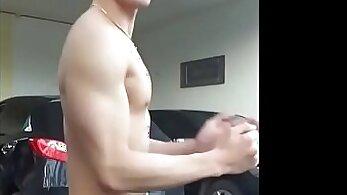 Asian Santas naughty strip dance