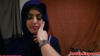 Arab Amateur BJ and doggie style sex