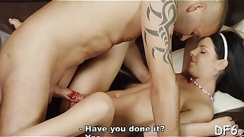 Virginity fucked by young stud
