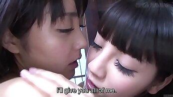 Asian Teen Ecchi romp with lesbian